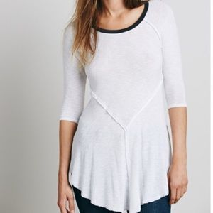 Free People Intimately White Weekends Layering Top